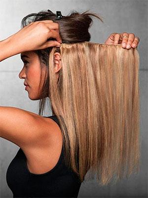 Наращивание волос горячим способом