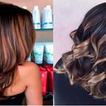 Темные оттенки волос