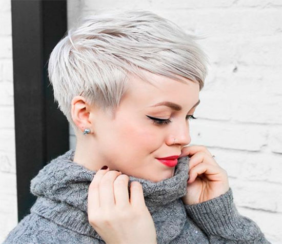 металлический блонд