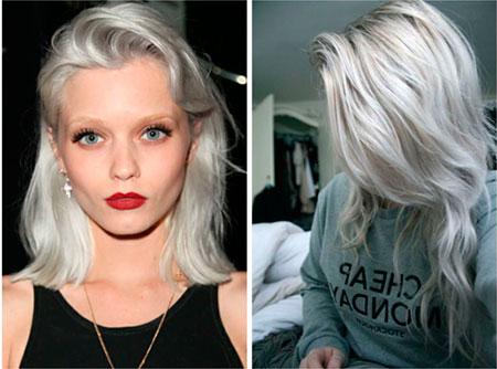 Какие бывают цвета окрашивания волос