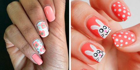 Вариант модного дизайна ногтей № 11