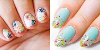 Вариант модного дизайна ногтей № 5