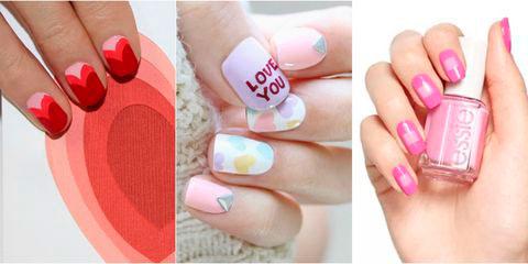 Вариант модного дизайна ногтей № 4
