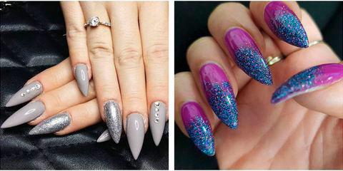Вариант модного дизайна ногтей № 7