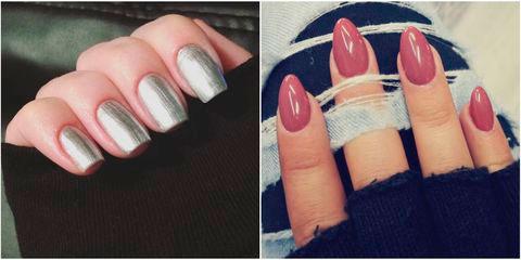 Вариант модного дизайна ногтей № 6