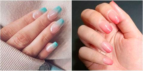 Вариант модного дизайна ногтей № 8