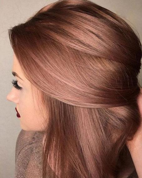 Однотонное окрашивание волос в домашних условиях