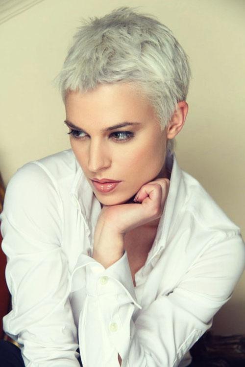 Пикси - стрижка на короткие волосы
