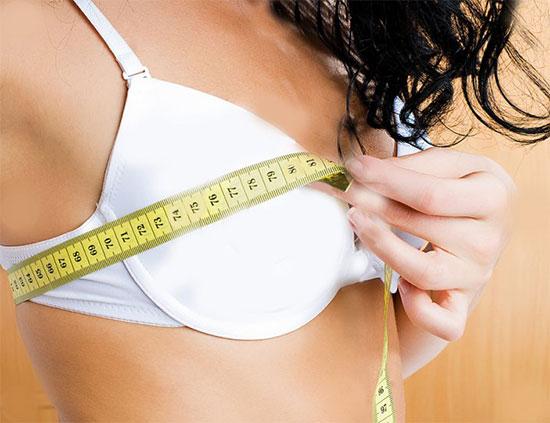 Как увеличить грудь девушке в домашних условиях