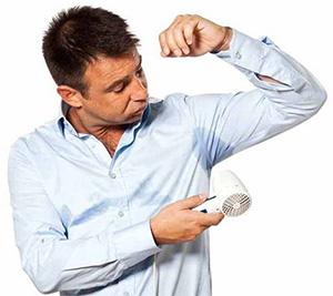 Причины сильного потоотделения у мужчин