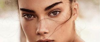 Как сделать брови прямой формы