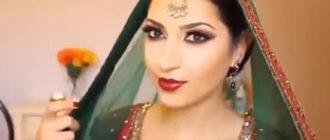 Восточный макияж глаз: арабский, индийский, японский
