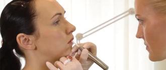 Татуаж губ с растушевкой